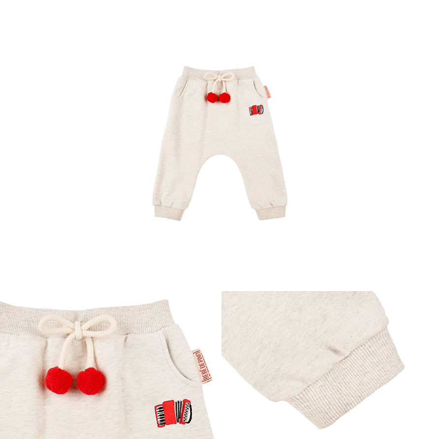 Accordion baby pompom pants 상세 이미지
