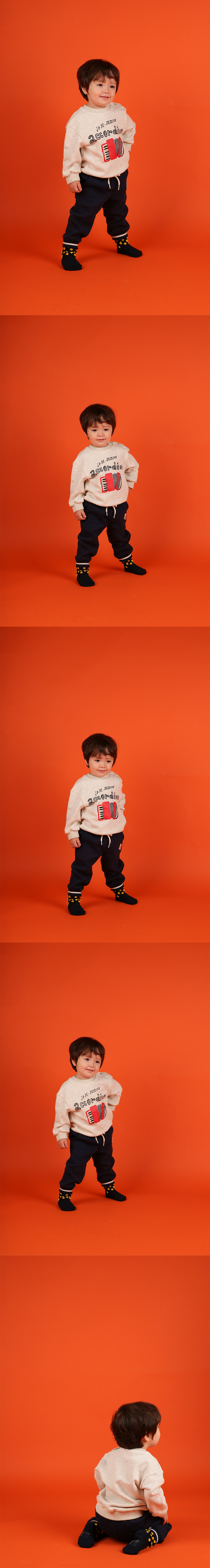 Accordion baby sweatshirt 상세 이미지