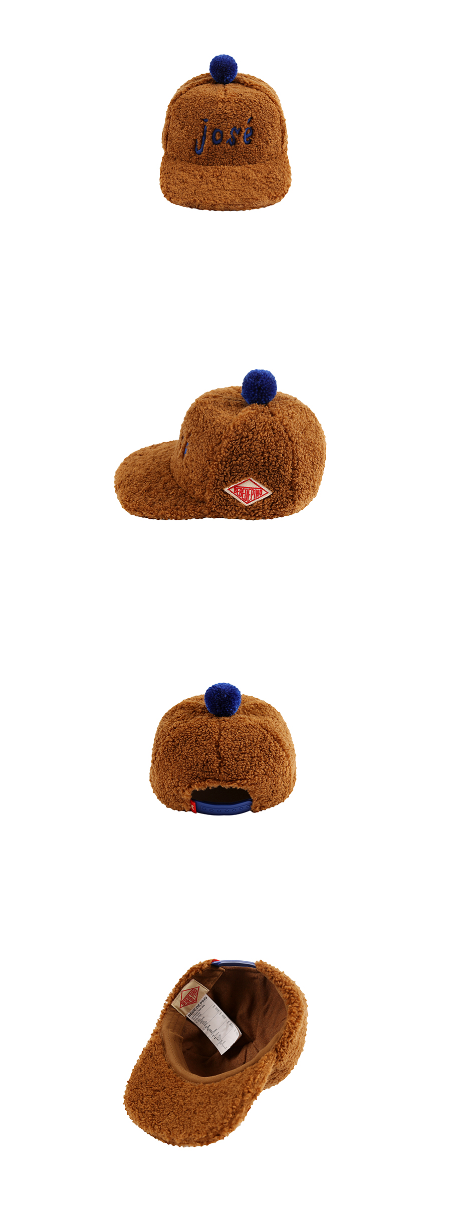 Jose fur 5 panel hat 상세 이미지