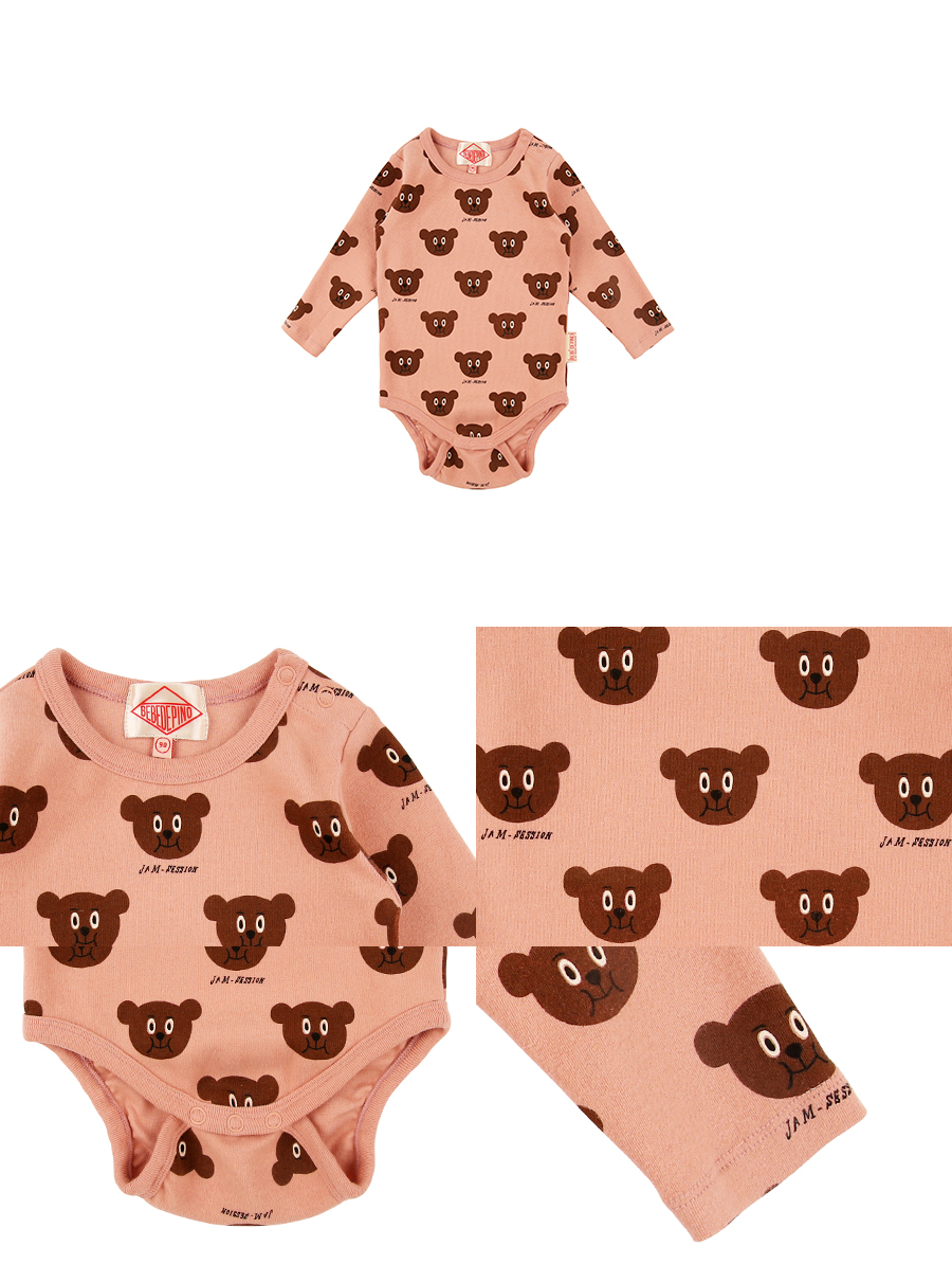 Multi willy bear baby bodysuit 상세 이미지