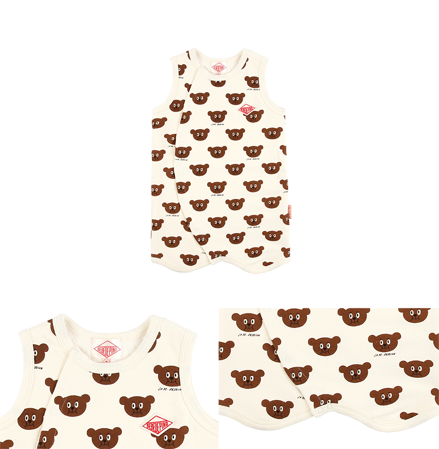 Multi willy bear baby sleeping vest 상세 이미지