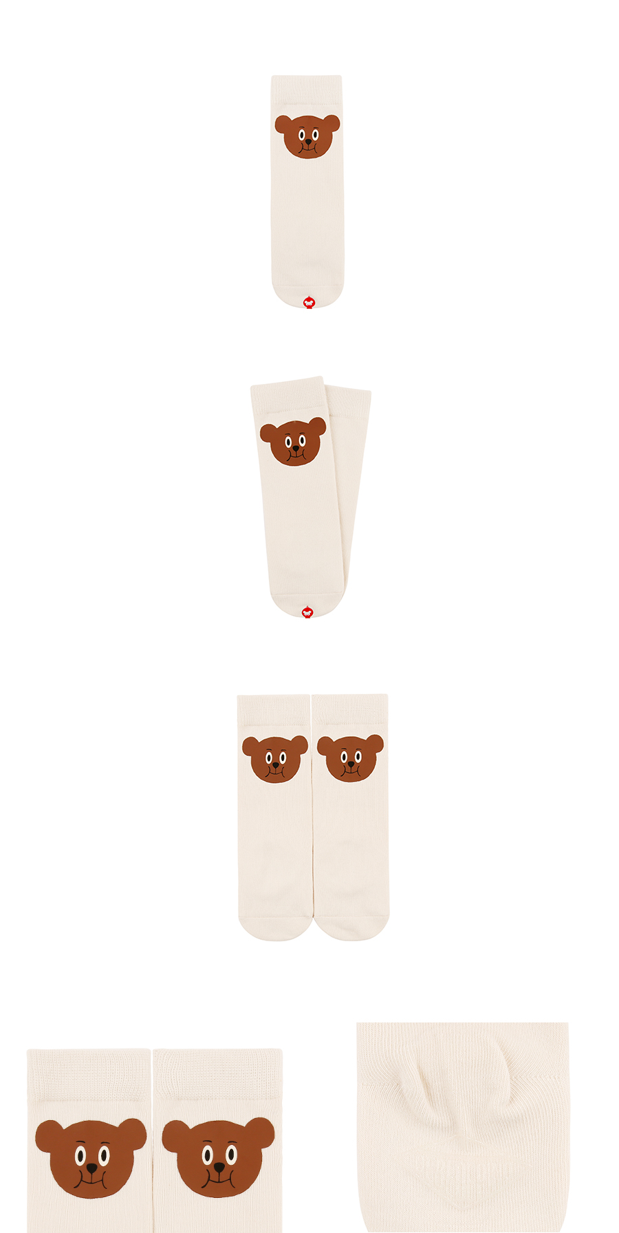 Willy bear knee socks 상세 이미지
