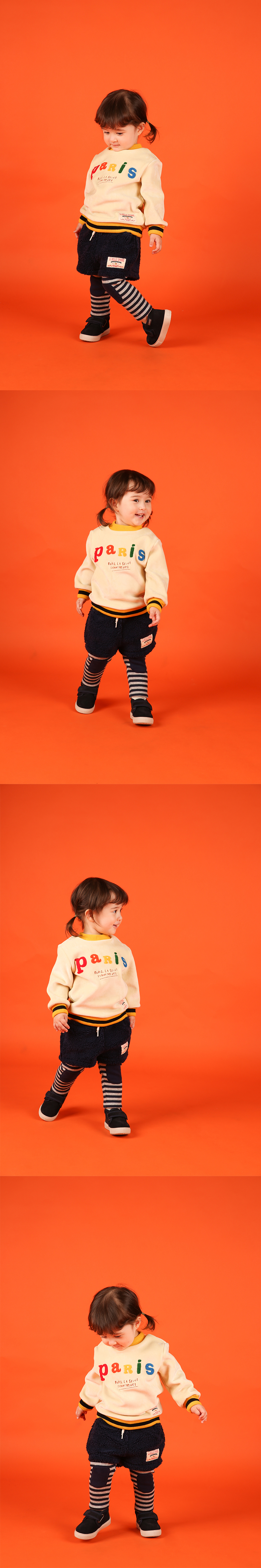 Baby dumble short pants leggings 상세 이미지