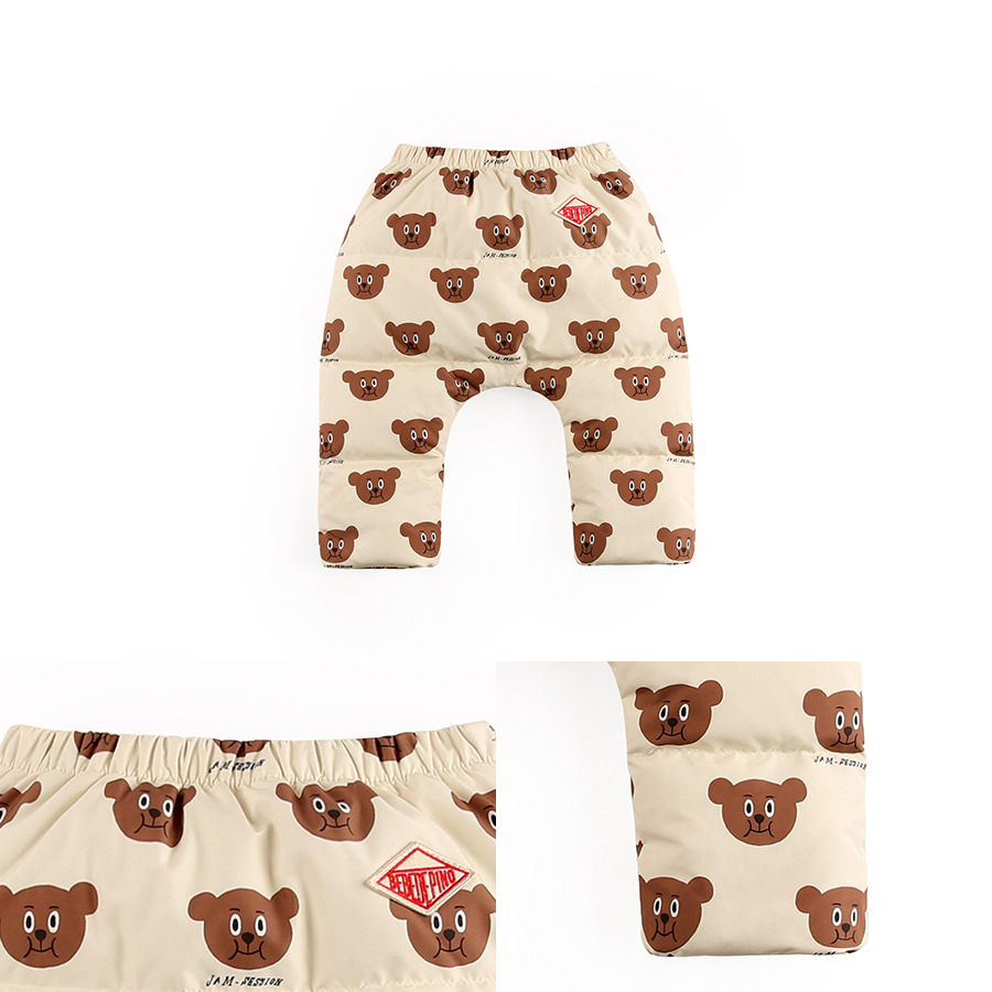 Multi willy bear baby down pants 상세 이미지