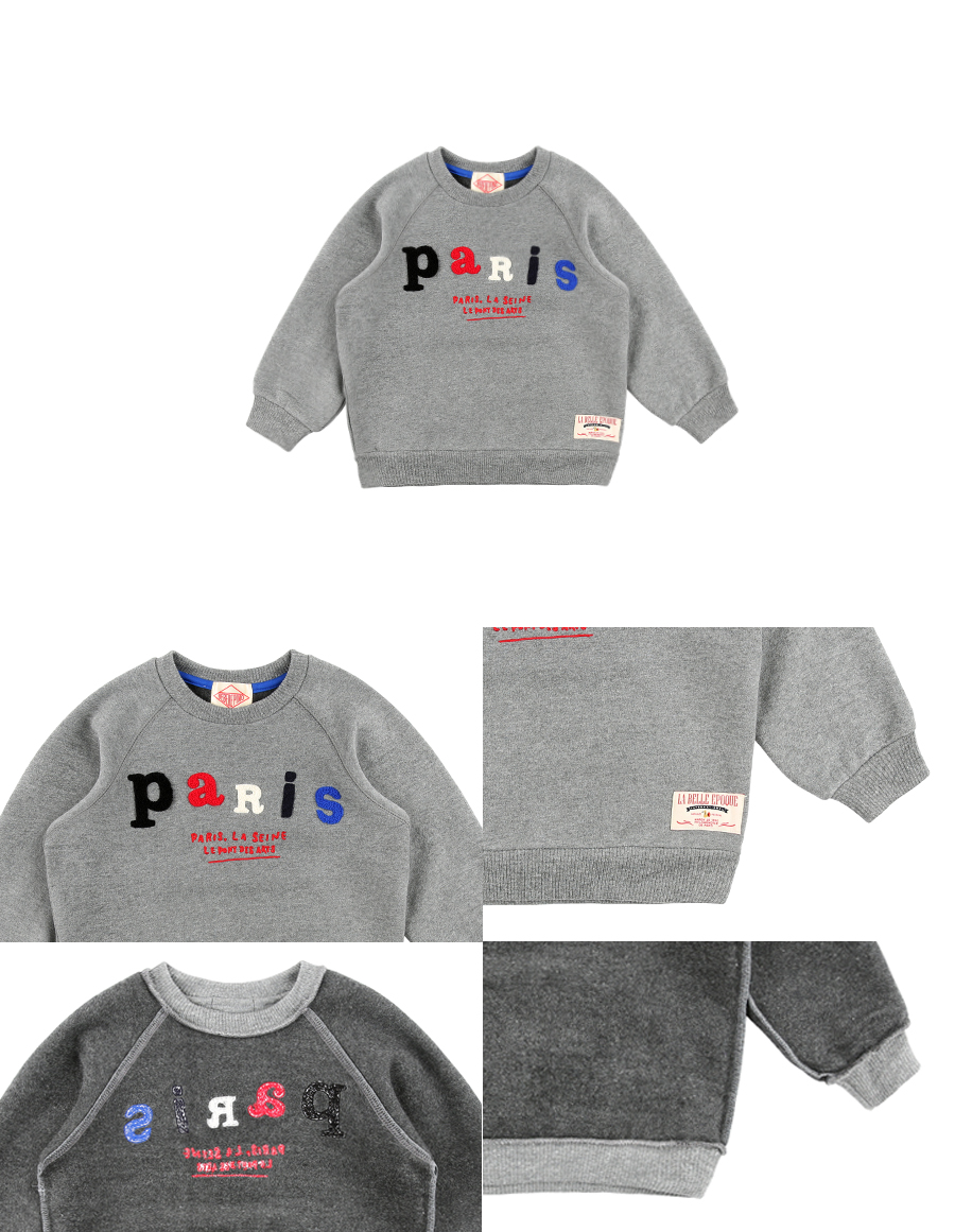 Paris raglan sweatshirt 상세 이미지