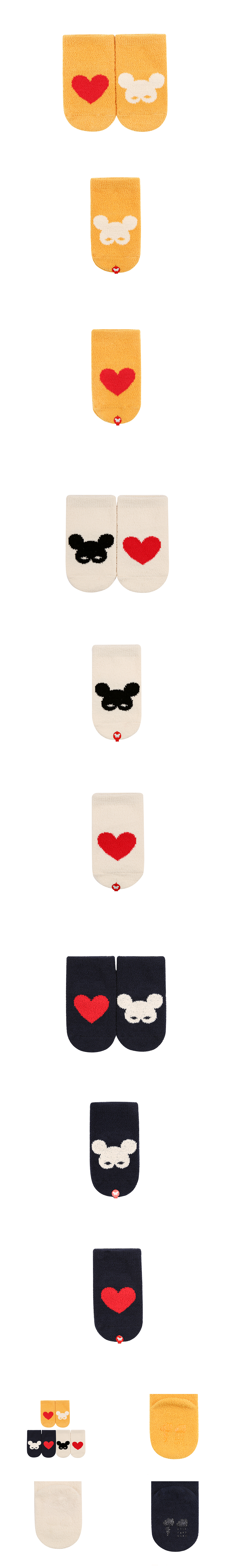 Pino heart sleeping socks 상세 이미지