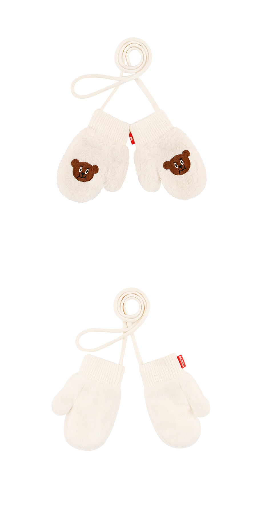 Willy bear baby fur gloves 상세 이미지