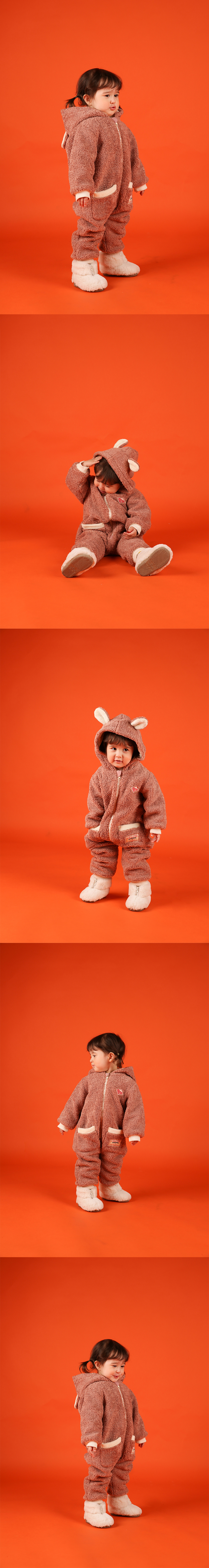 Willy bear baby winter overall 상세 이미지