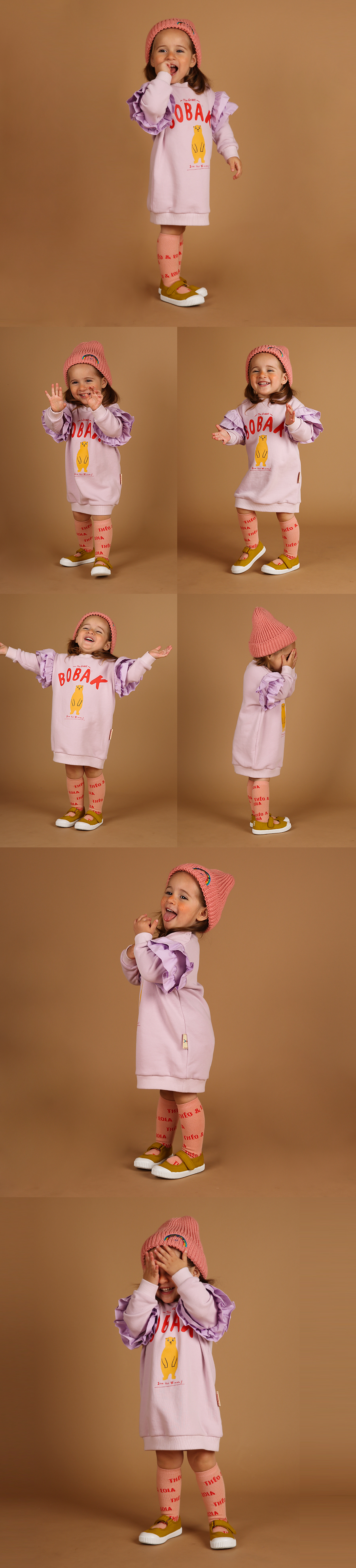 Bobak baby ruffle dress 상세 이미지