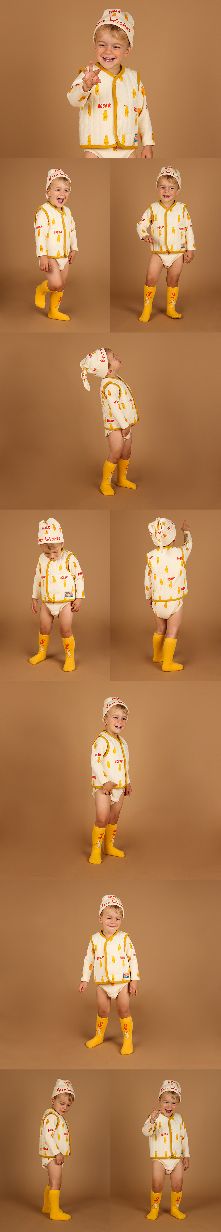Multi bobak baby bodysuit set 상세 이미지