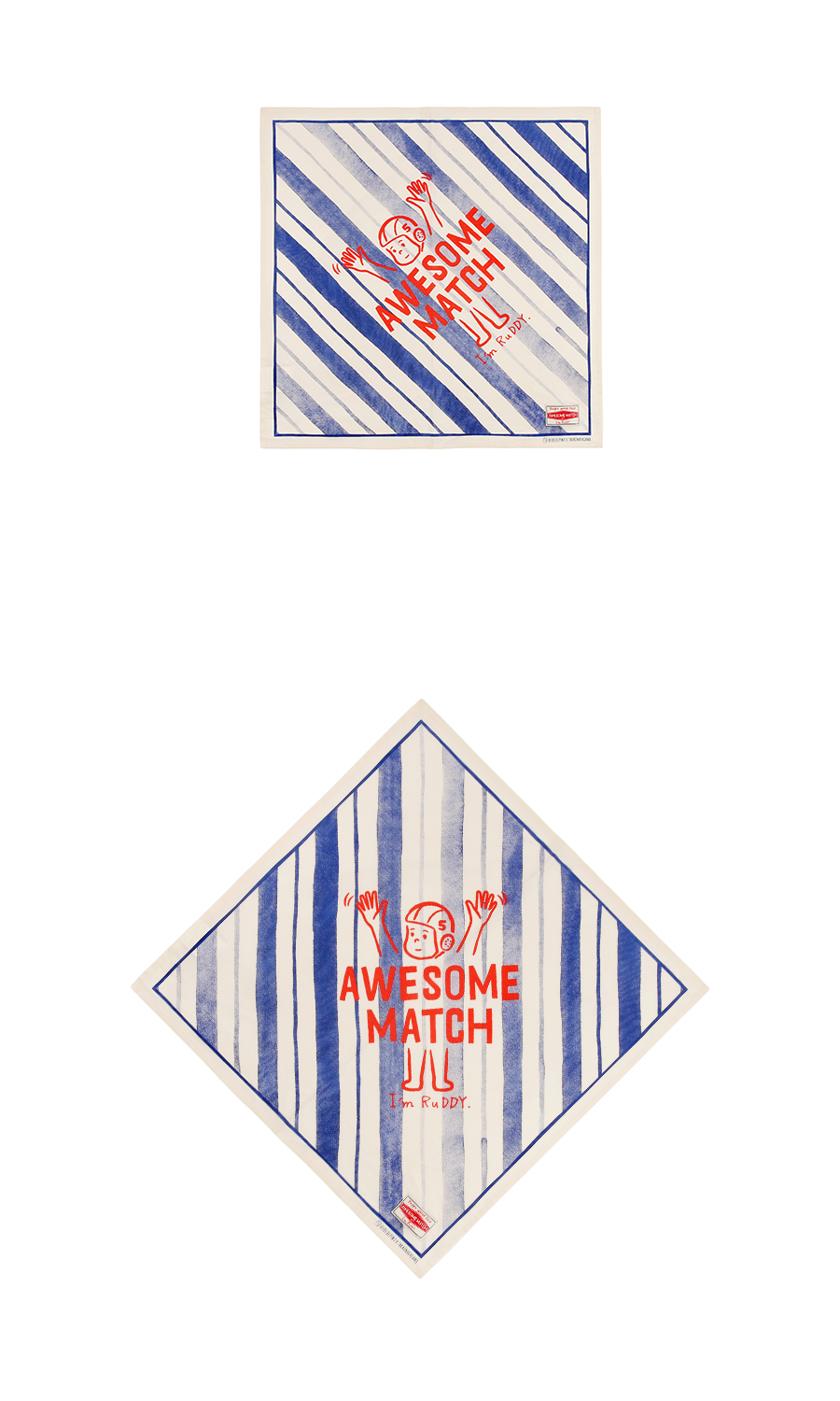 Awesome Match Stripe Scarf 상세 이미지