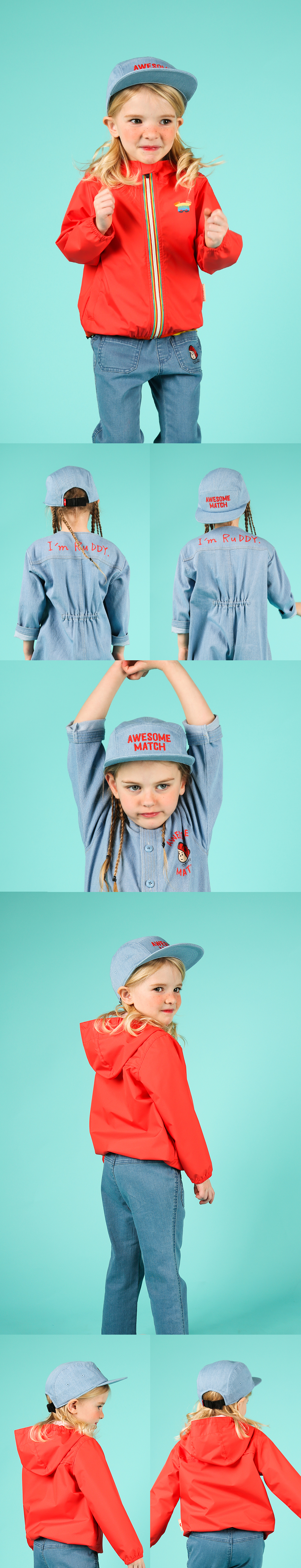 Awesome match denim camp cap 상세 이미지