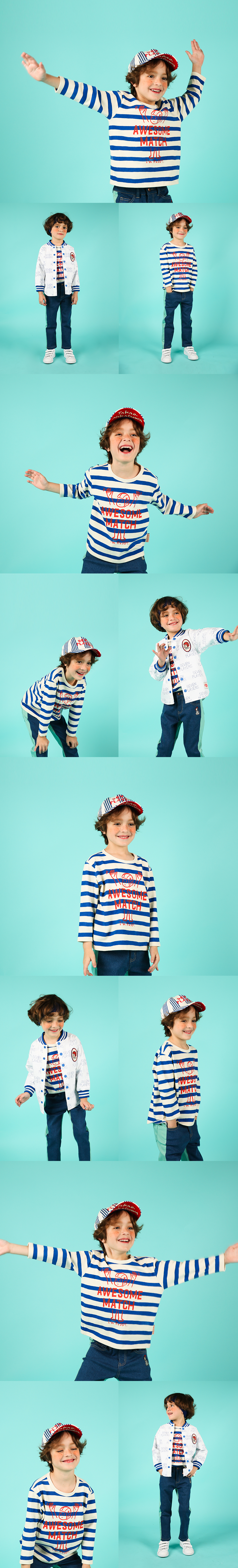 Awesome match ruddy stripe long sleeve tee 상세 이미지