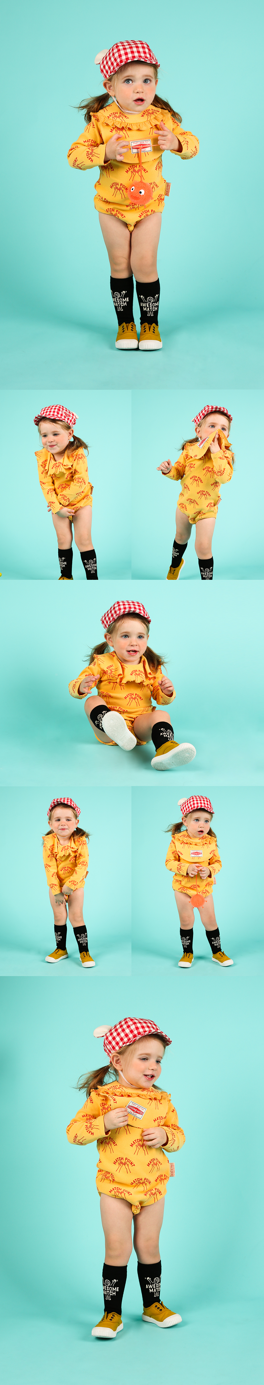 Multi match point baby bodysuit set 상세 이미지