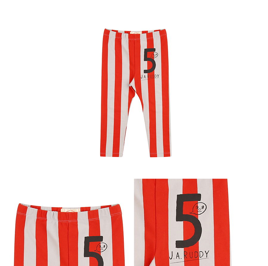 Number 5 ruddy baby stripe leggings 상세 이미지