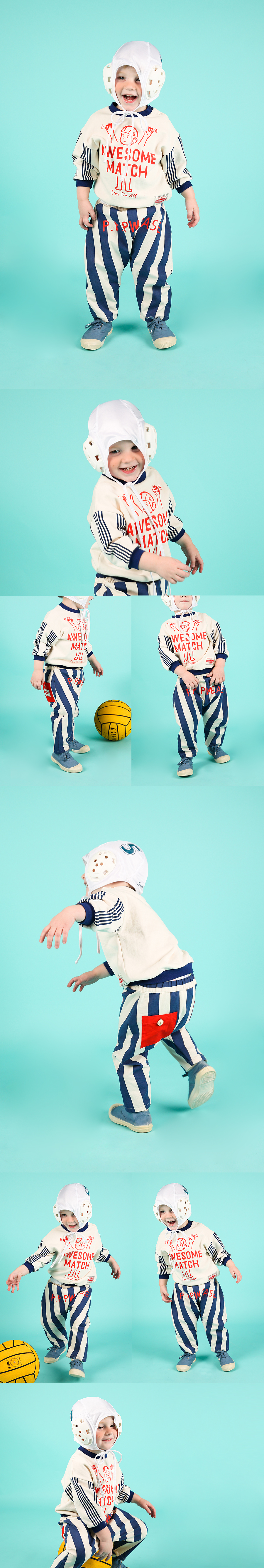 Please baby pocket stripe pants 상세 이미지