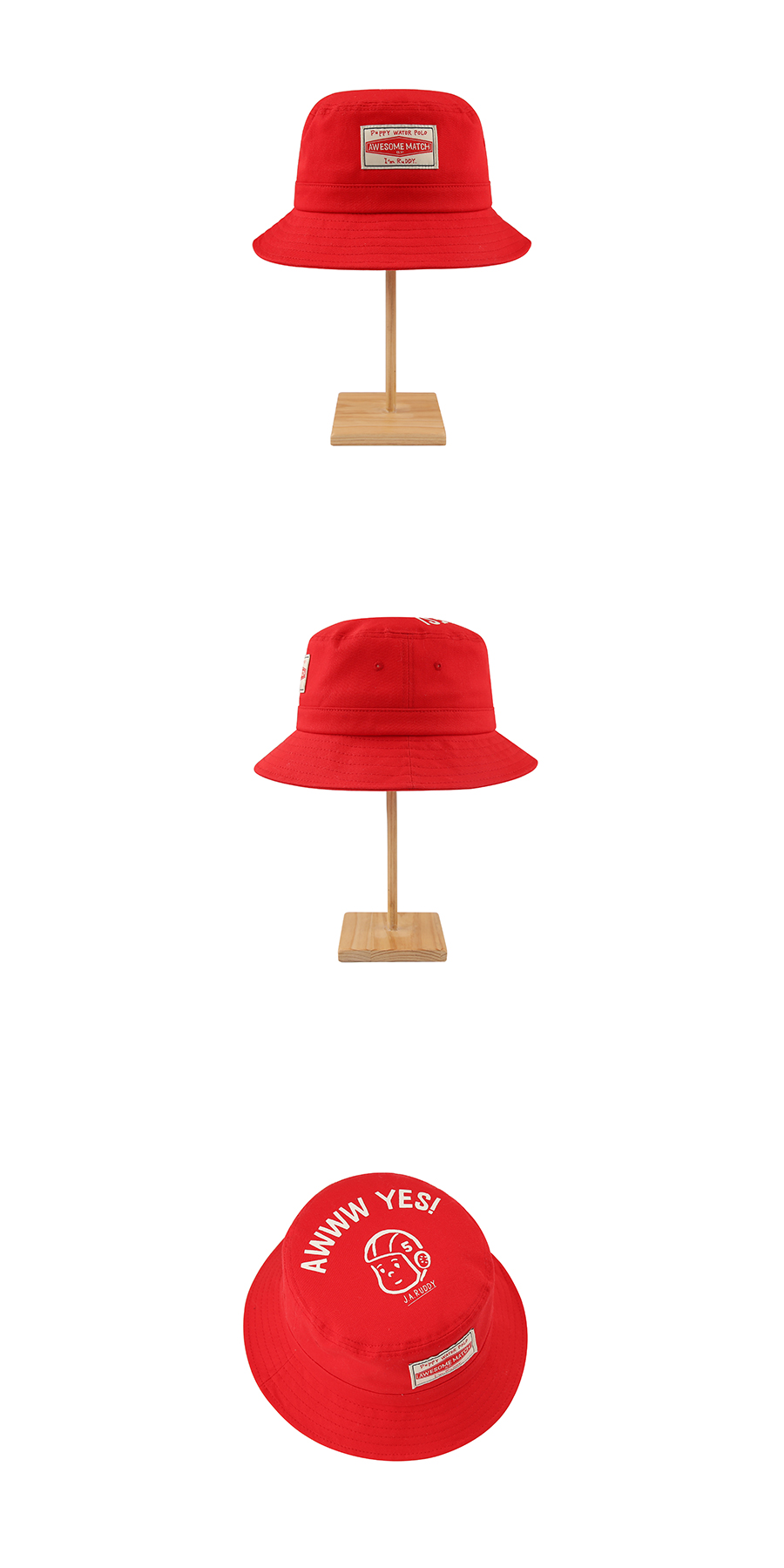 Ruddy cotton twill Bucket hat 상세 이미지