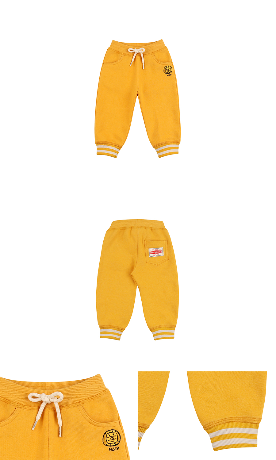 Water polo ball baby sweat pants 상세 이미지