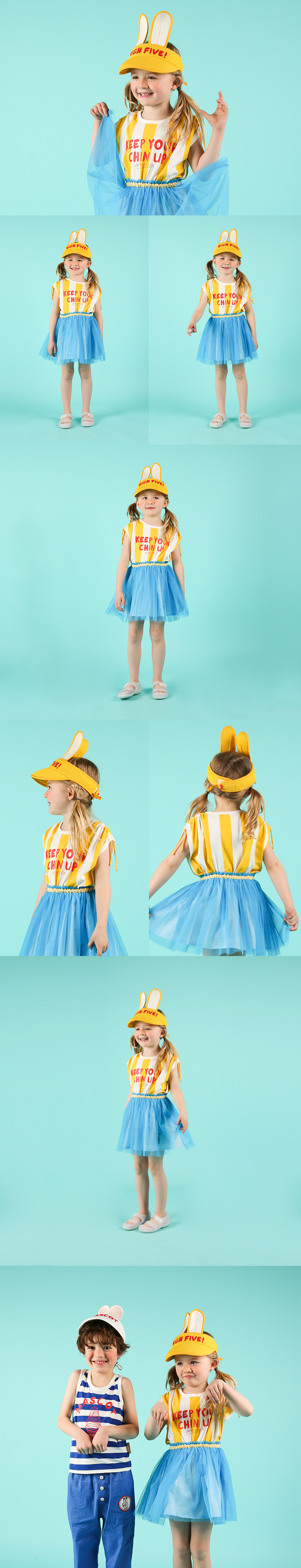Ice cream cone tutu skirt 상세 이미지