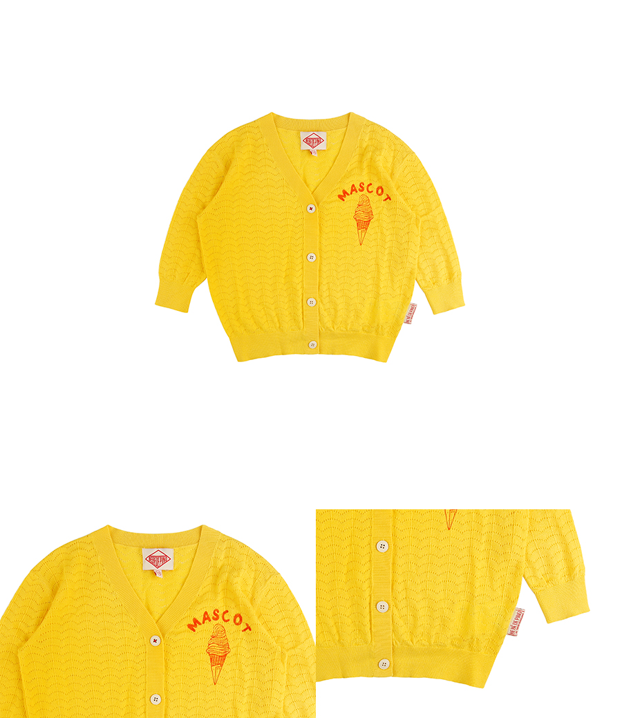 Mascot multi wave cardigan 상세 이미지