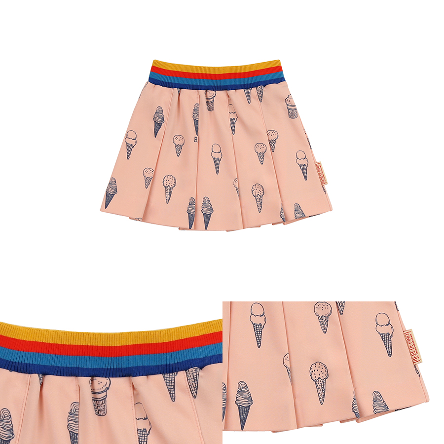 Multi ice cream cone tennis skirt 상세 이미지