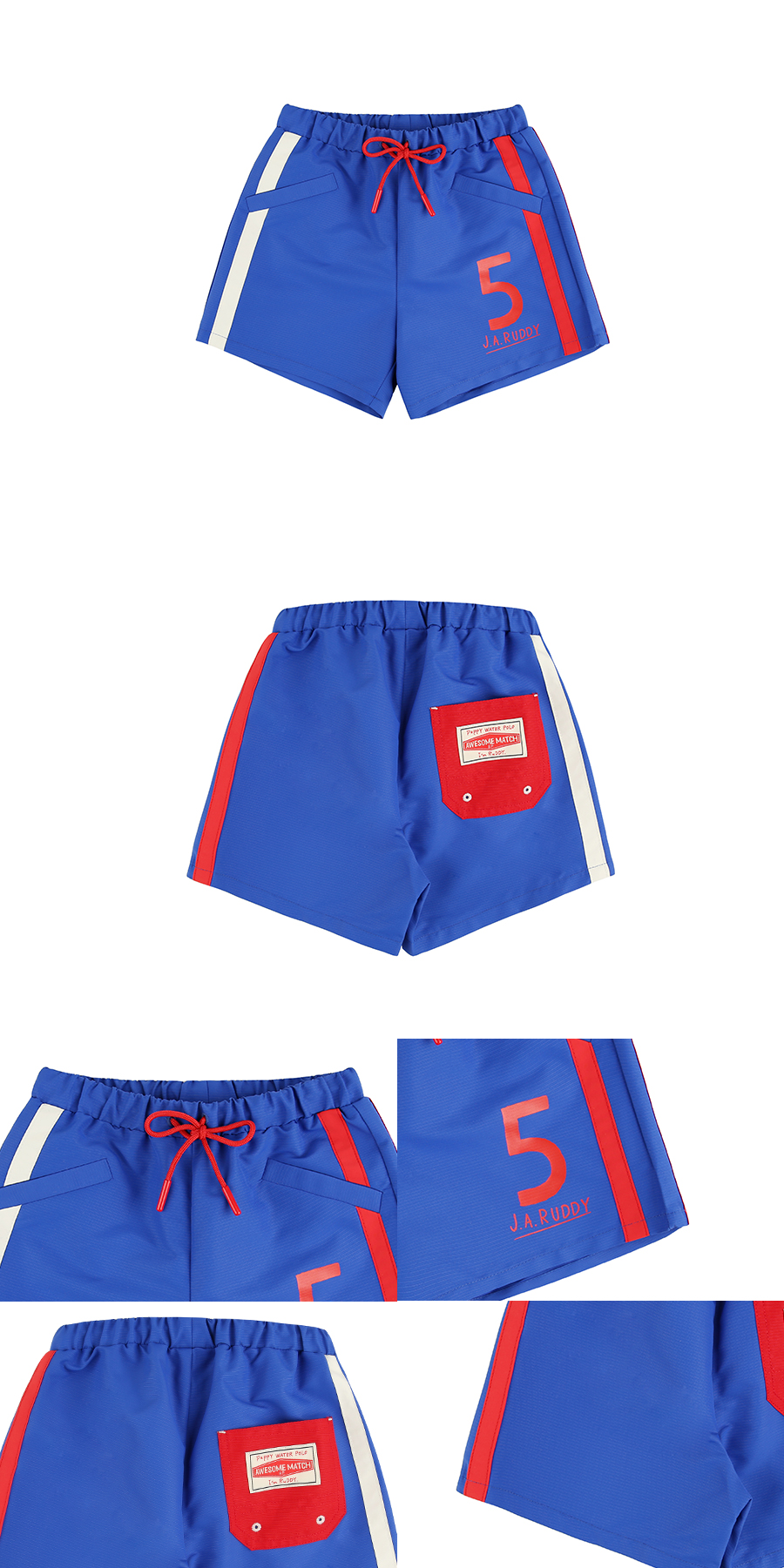 Number 5 ruddy swim pants 상세 이미지