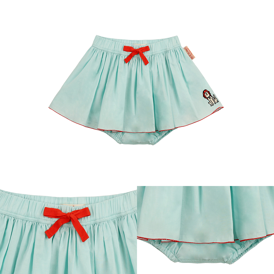 Puppy baby mint bloomer skirt 상세 이미지