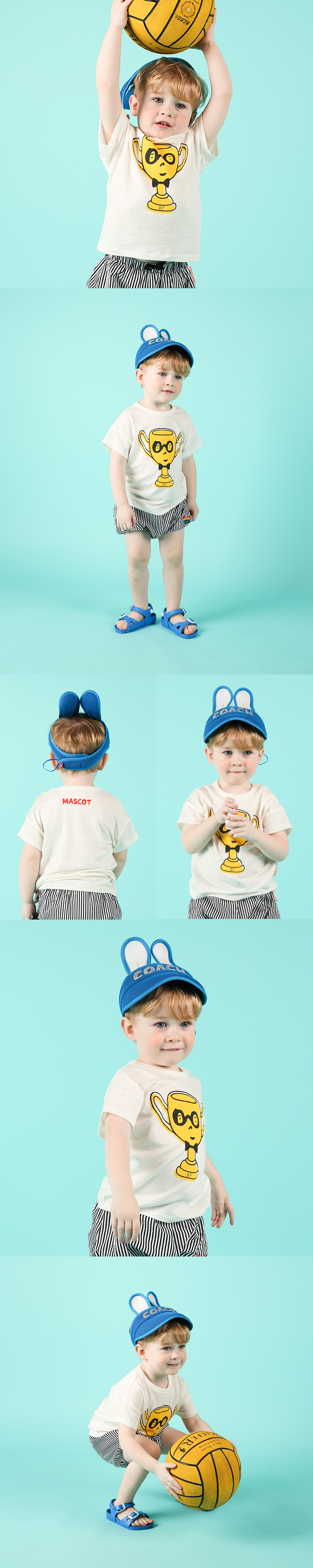 Trophy baby drop shoulder short sleeve tee 상세 이미지