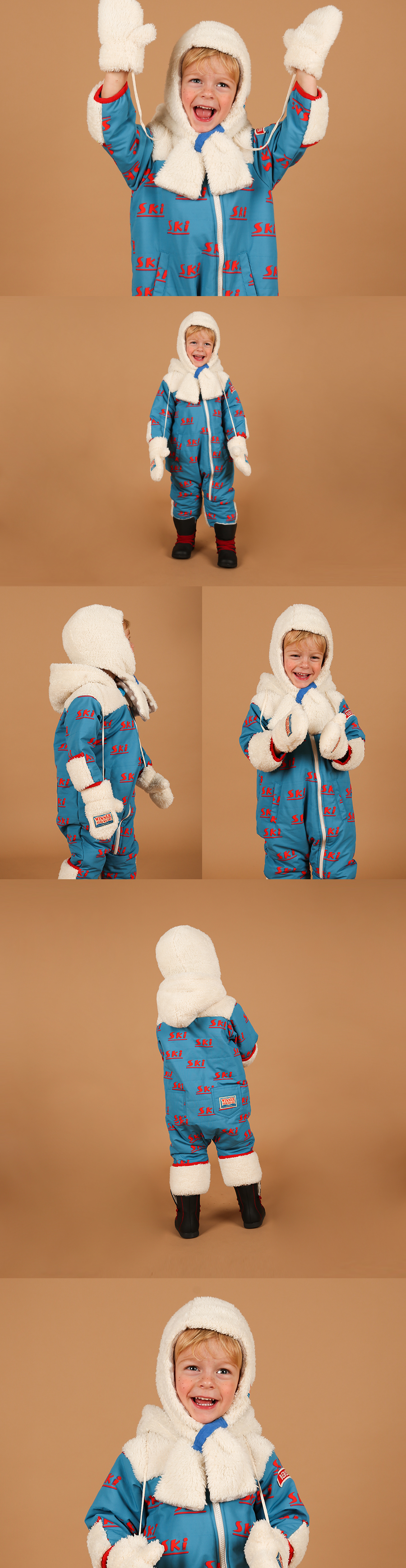 Multi ski baby winter overall 상세 이미지