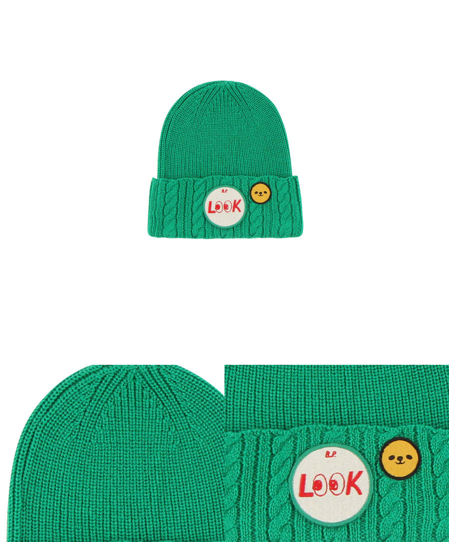 Look cable beanie 상세 이미지