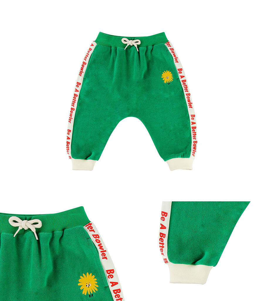Pompom baby terry baggy pants 상세 이미지