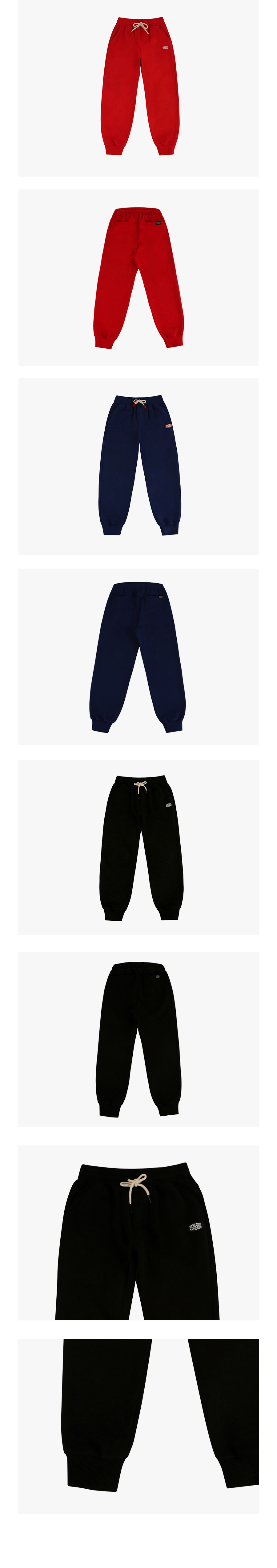 Icebiscuit classic logo sweat pants 상세 이미지