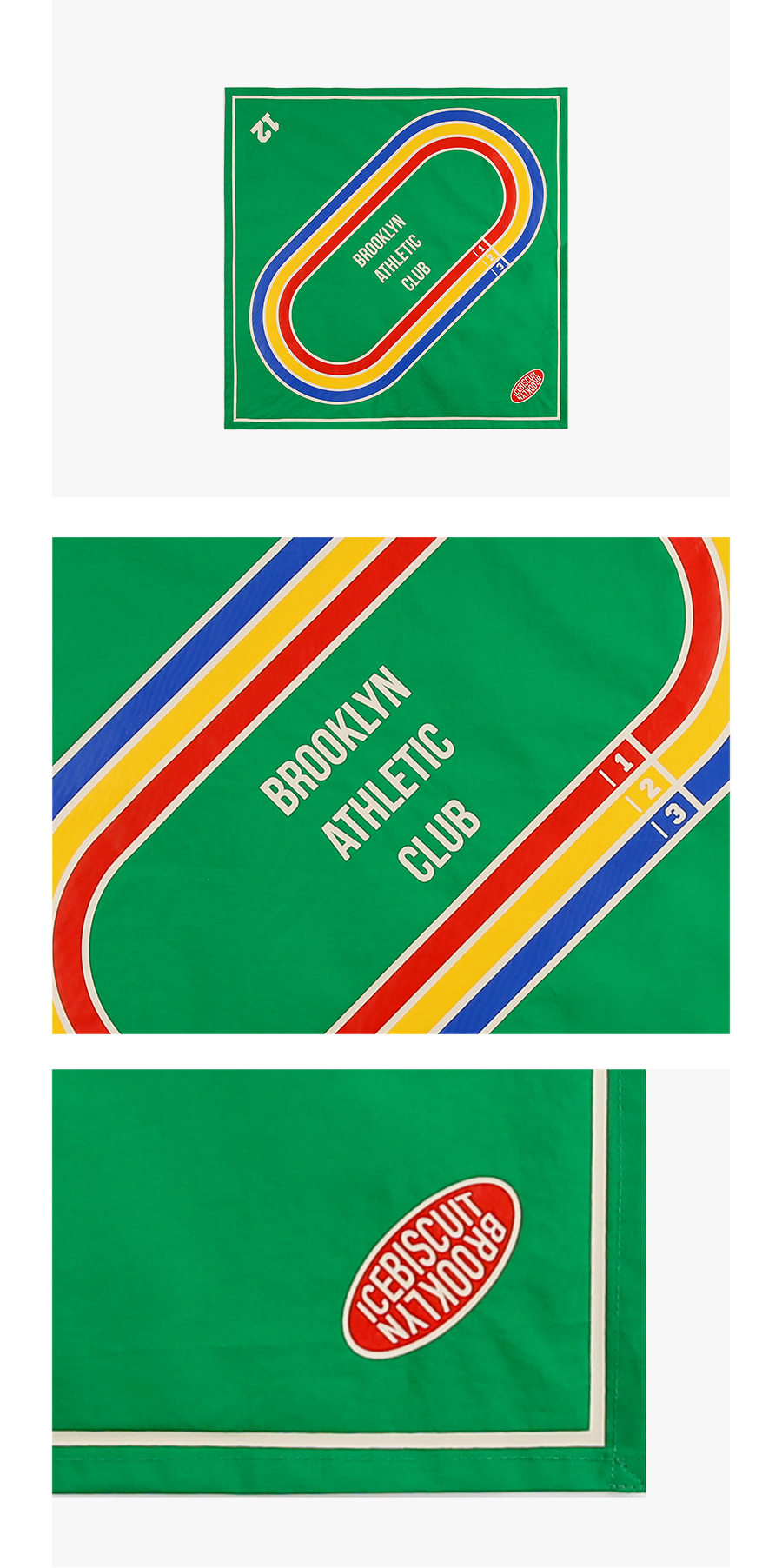 Brooklyn athletic club scarf 상세 이미지