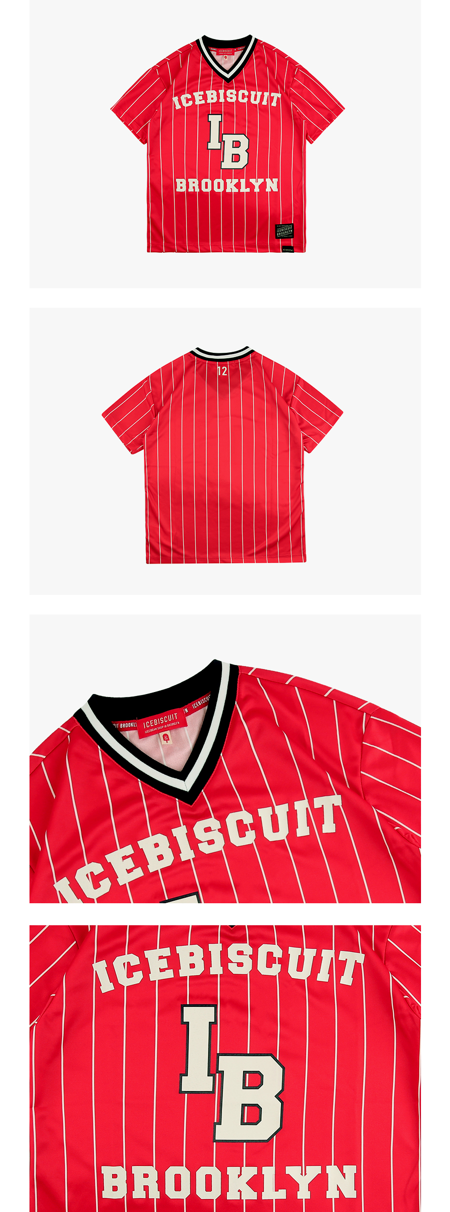 Icebiscuit brooklyn jersey tee 상세 이미지