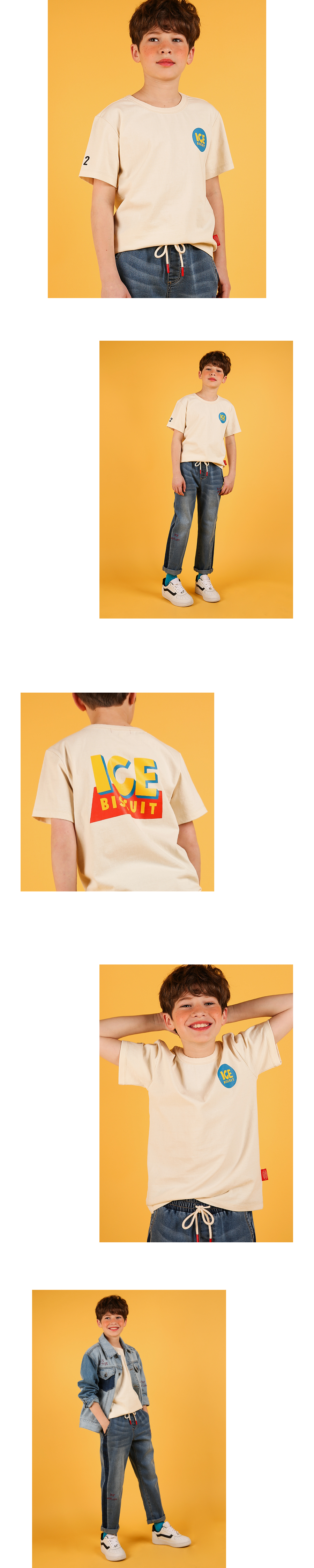 Icebiscuit story short sleeve tee 상세 이미지