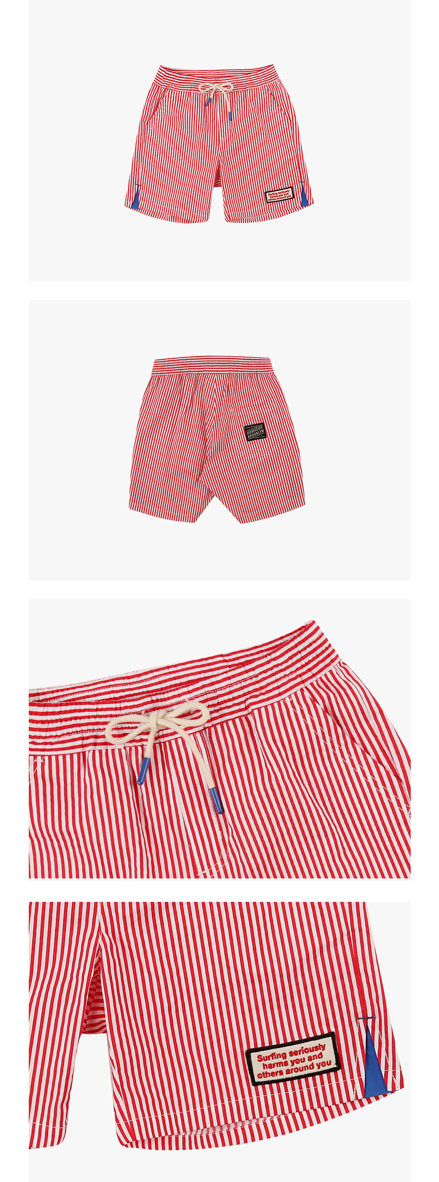 Surf club stripe shorts 상세 이미지