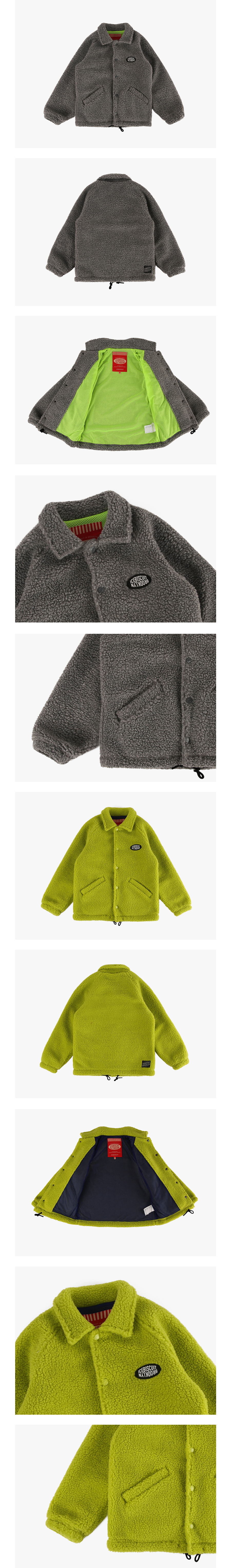 Icebiscuit fleece coach jacket 상세 이미지
