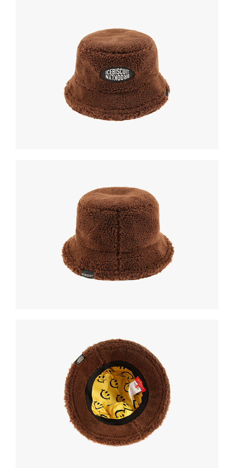 Icebiscuit fluffy bucket hat 상세 이미지