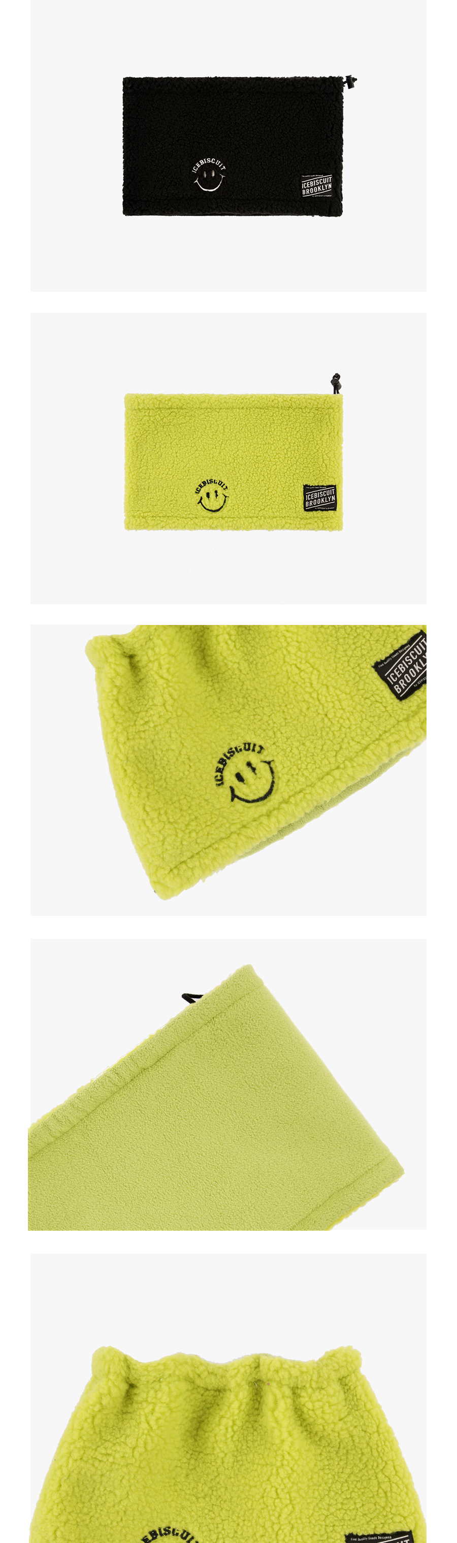 Smile fluffy neck warmer 상세 이미지