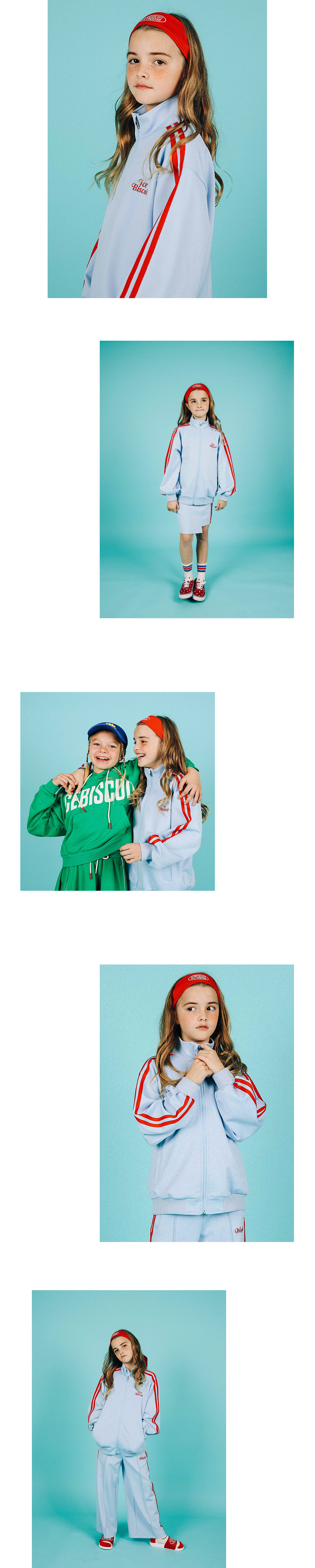 Icebiscuit high neck track jacket 상세 이미지