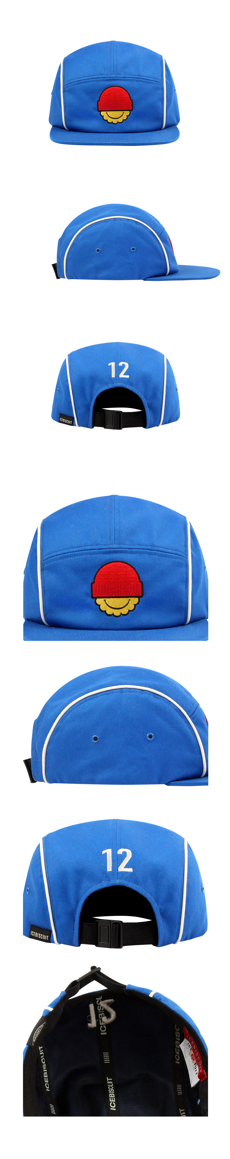 Winter smile piping camp cap 상세 이미지